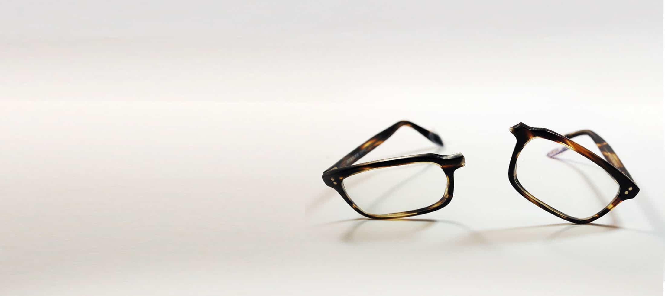 Fix Broken Glasses Frame Plastic