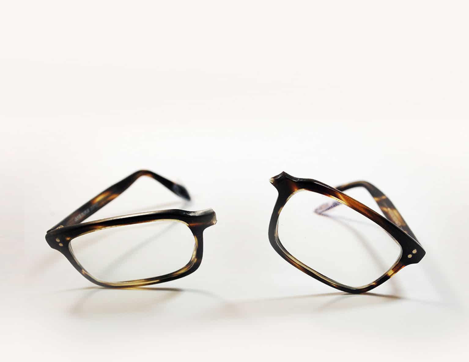 Repair Broken Eyeglasses Nose Bridge