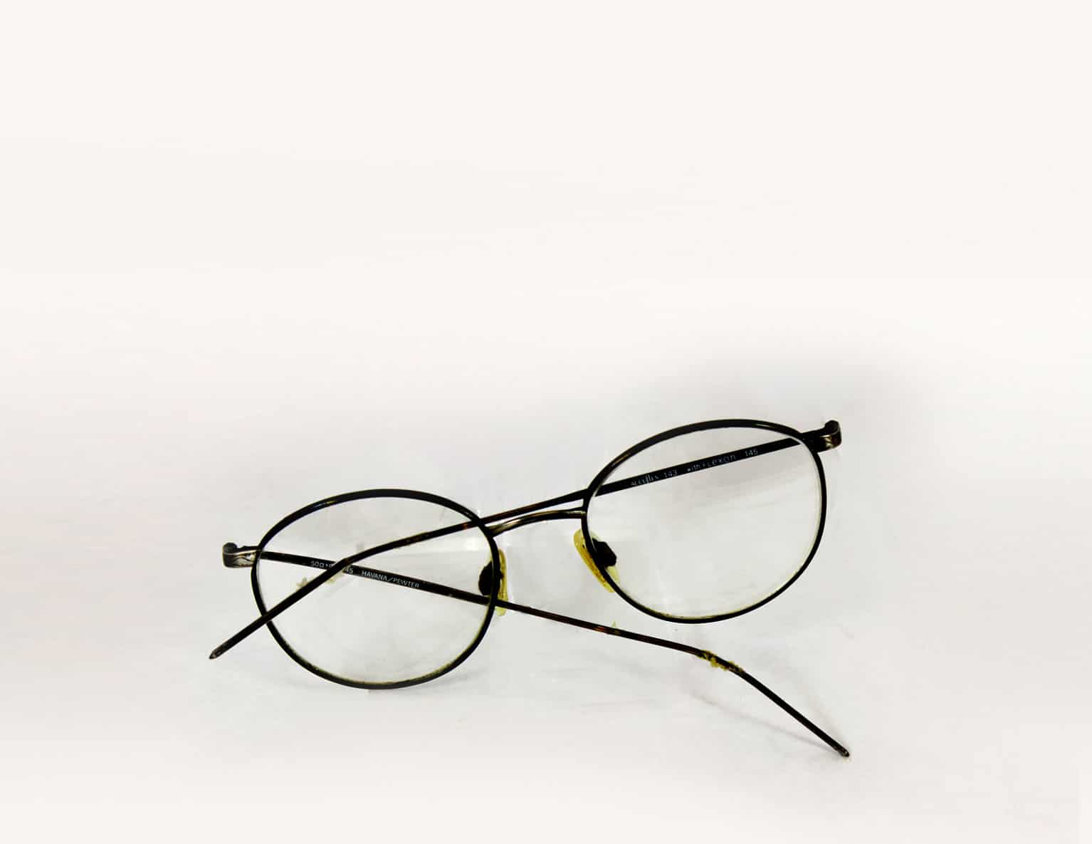 Repairing Bent Glasses Frames : Adjusting bent eyewear