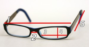 know your eye glass measurements