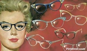 Fashion Frames Innovation of the 40s.